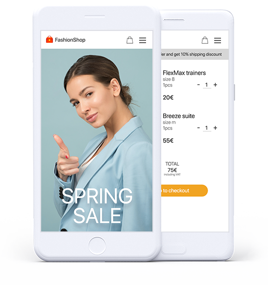E-commerce mobile user experience
